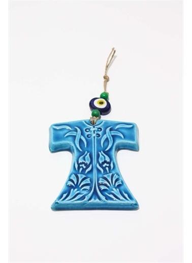 Raven Home Studio Rhs Kaftan Figür Duvar Dekortif Ürünleri Mavi Küçük Boy Mavi